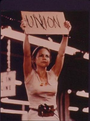 norma rae and labor issues Norma rae: unionism in an age of feminism by  women's issues in fact, norma rae's producers had  284 labor history the makers of norma rae wanted to give.