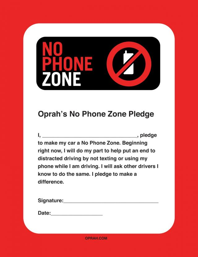 free phone on No Phone Zone Join Oprahs No Phone Zone Day On Friday