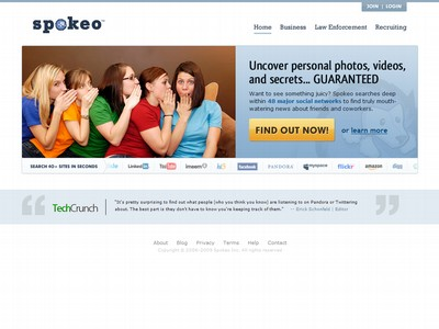 "Remove yourself, and your ""secrets"" from Spokeo.com NOW"