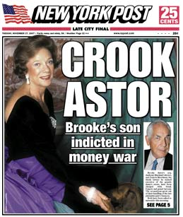 Brooke Astor NY Post Cover 14 Signs of Financial Elder Abuse