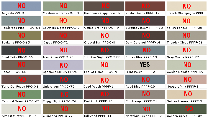 Rally against las vegas hoa bully boards will only grow for Peinture behr exterieur