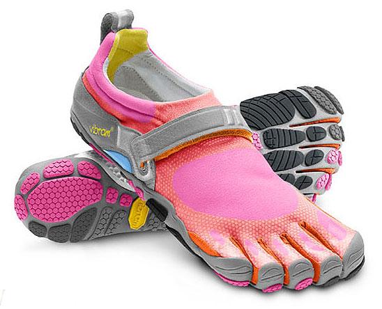 Running Shoe Action