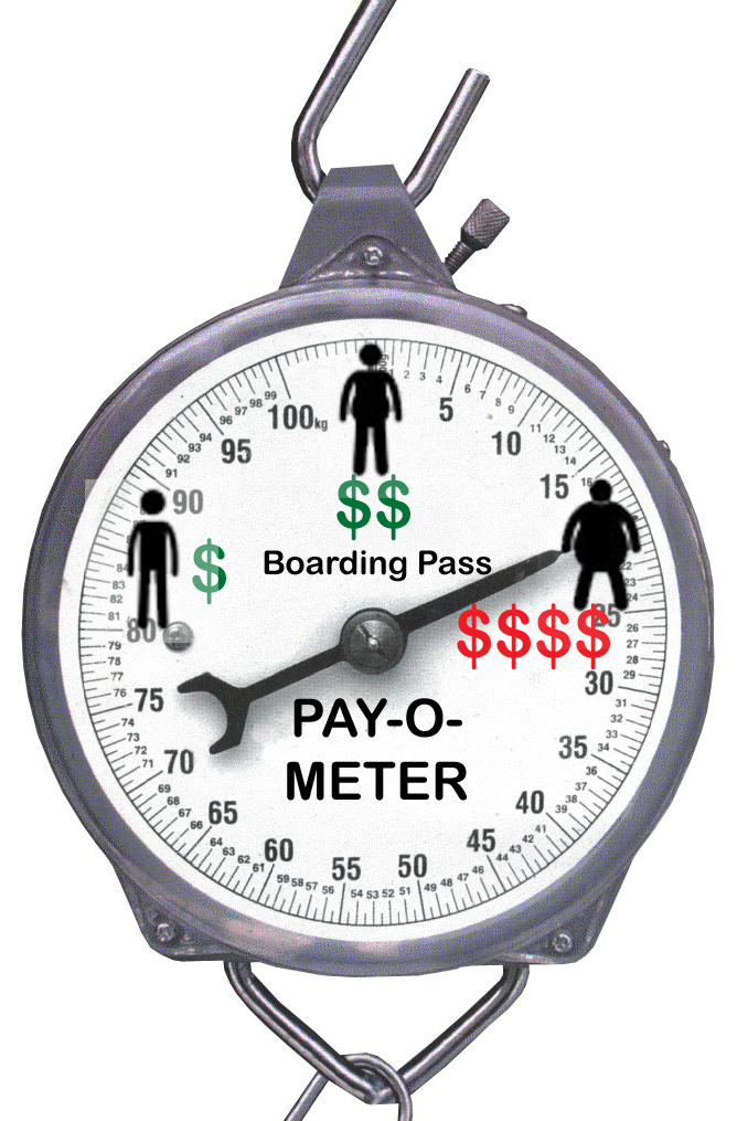 Boarding Pass Pay O Meter