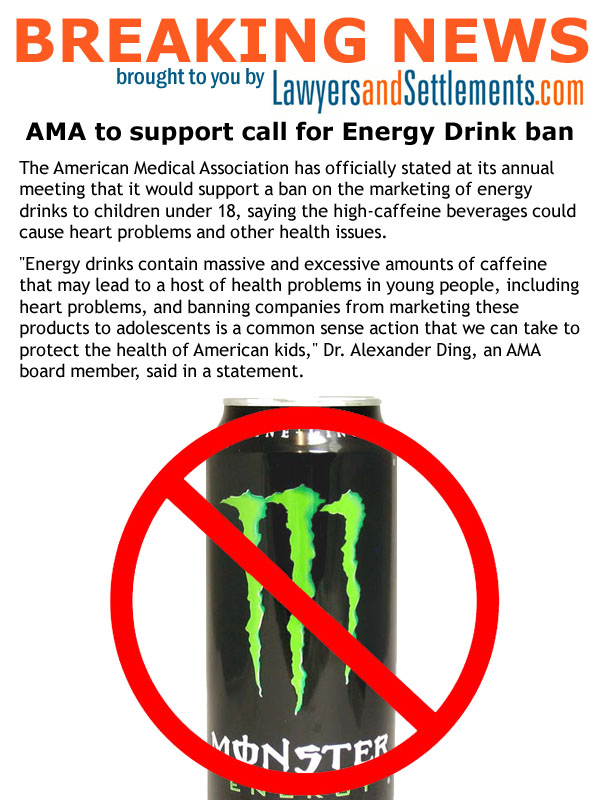 should energy drinks be banned We're going to debate about this topic tomorrow just wanted to see what other people thought :.