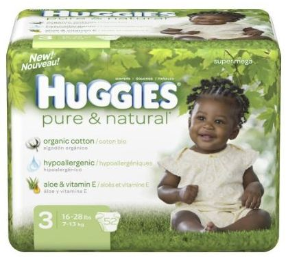 Huggies diapers natural