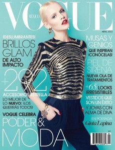 Ginta Lapina Vogue Mexico April 2012 231x300 Lawsuit Thought for the Day: Can you Dilute a Brand thats Barely Recognizable?