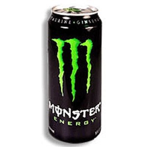 Monster Energy Drink green