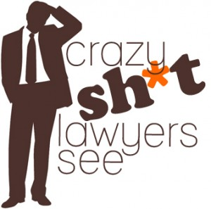 the shit lawyers see logo Mixed Font