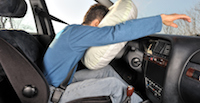 Exploding Airbags Cause Chemical Burns