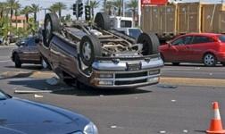 SUV rollover