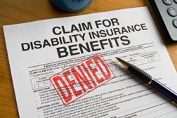 Disability Denial Letter Sample