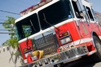 Six Fire Fighters Injured In Rollover Accident