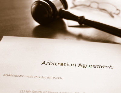California Court says no to  forced arbitration clause