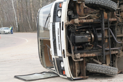 Bus Rollover Causing Back and Neck Injury Settles for  Million
