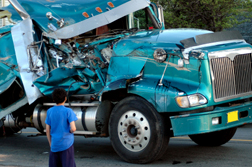 California Trucker Seeks  Million following Horrific Crash