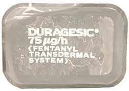 Duragesic patch recall