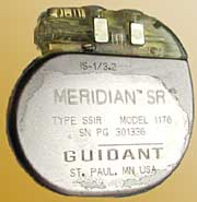 Guidant pacemaker recall