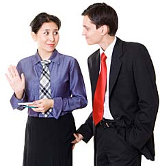 Sexual harassment and discrimination in the workplace