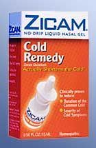 Zicam loss of smell and taste